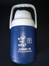 Bethlehem Steel Coleman Thermos Summer 98 Steelmaking Promo Jug - $8.00