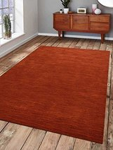 Rugsotic Carpets Hand Knotted Loom Woolen 2' 8'' X 10' Runner Rug Contem... - $79.00
