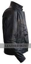 NWT Black Iron Man Fashion Stylish Sexy Premium Genuine Leather Jacket -All Size image 3