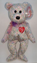 TY Beanie Baby  2001 Signature Bear Retired Multi Color - $5.93