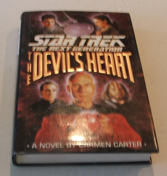 Star Trek The Next Generation The Devil's Heart HC Book