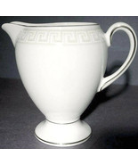"""Wedgwood Athens Footed Creamer Globe Shape 4""""H Made in England New - $19.90"""