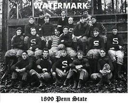 NCAA PIFA 1899 Penn State Football Team Photo Black & White 8 X 10 Photo Pic - $5.99