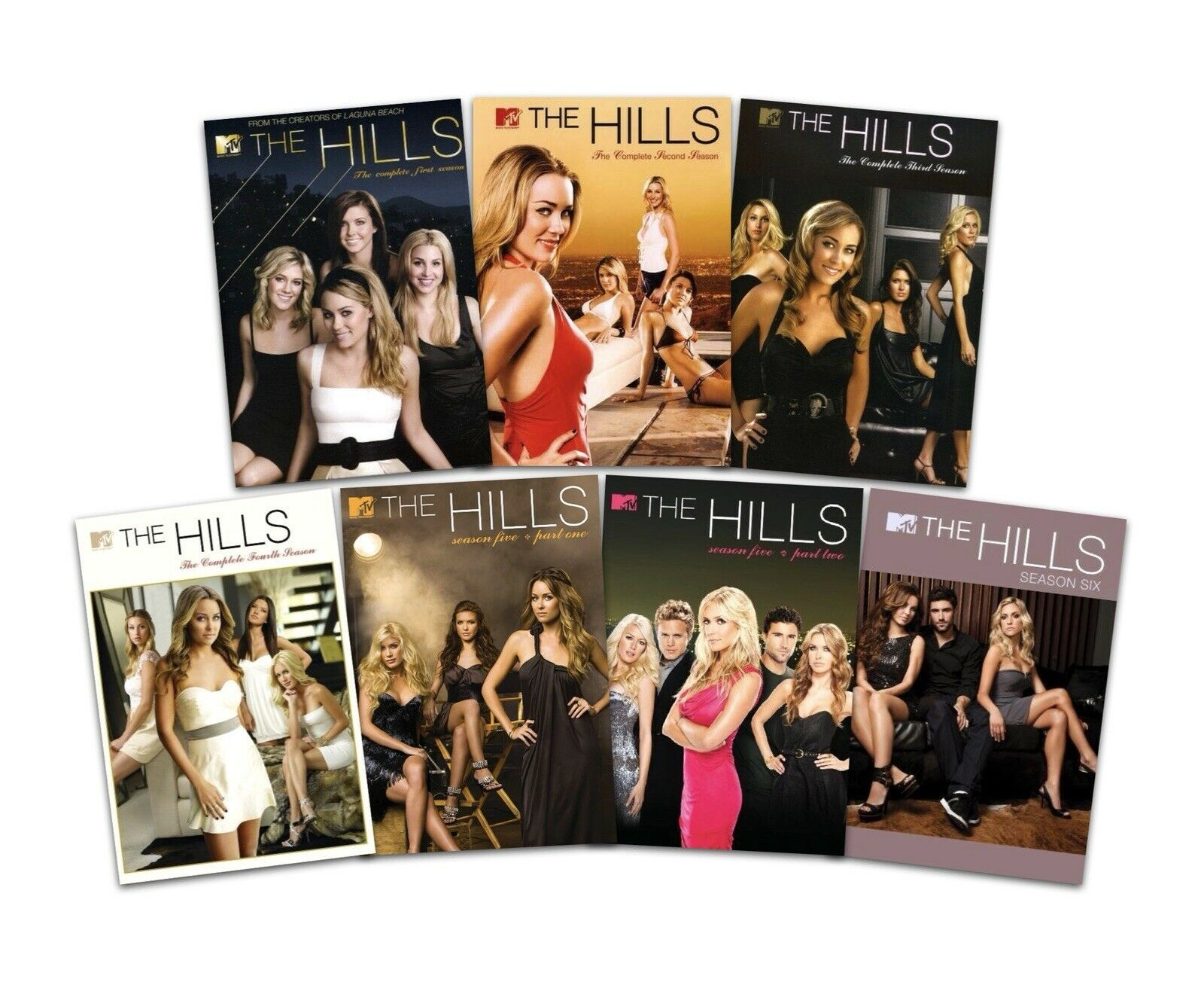 The Hills: Complete Series Seasons 1-6 (DVD Sets New)