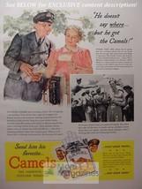 1942 RARE Esquire Advertisement AD WWII Camel Cigarettes! WWII Era - $14.00