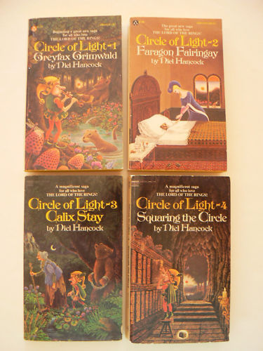Lot 4 Niel Hancock CIRCLE of LIGHT Science Fiction PB