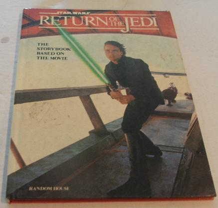 Return of the Jedi Hardcover Book