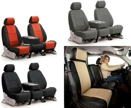 Coverking Synthetic Leather Tailored Seat Covers for Honda Passport - $164.49+