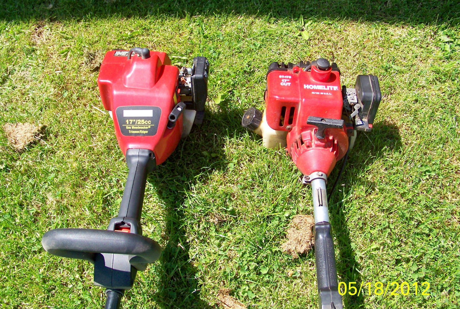 TWO USED GAS WEED TRIMMERS------PICK UP ONLY------