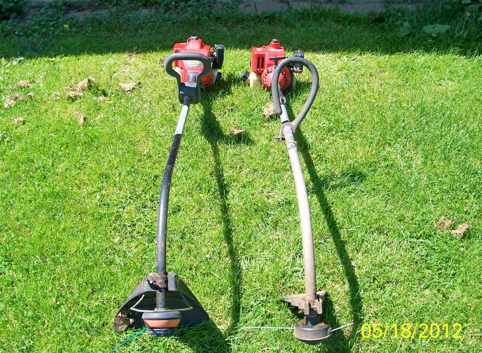 TWO USED GAS WEED TRIMMERS------PICK UP ONLY------ image 2