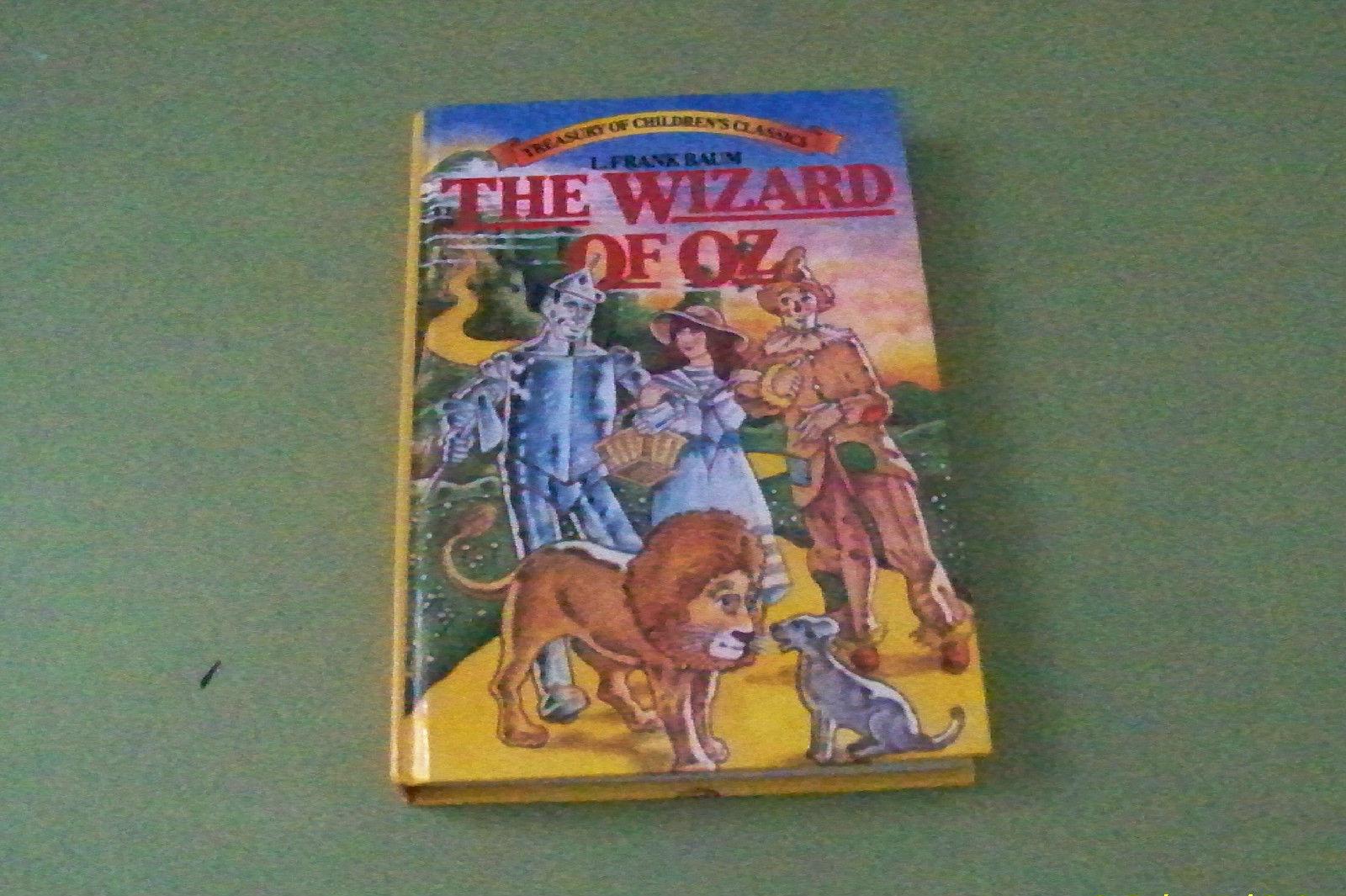Vintage Book THE WIZARD OF OZ 1980 Treasury of Children's Classics