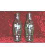Two Vintage 6 1 2 oz Coca Cola Bottles - $19.99