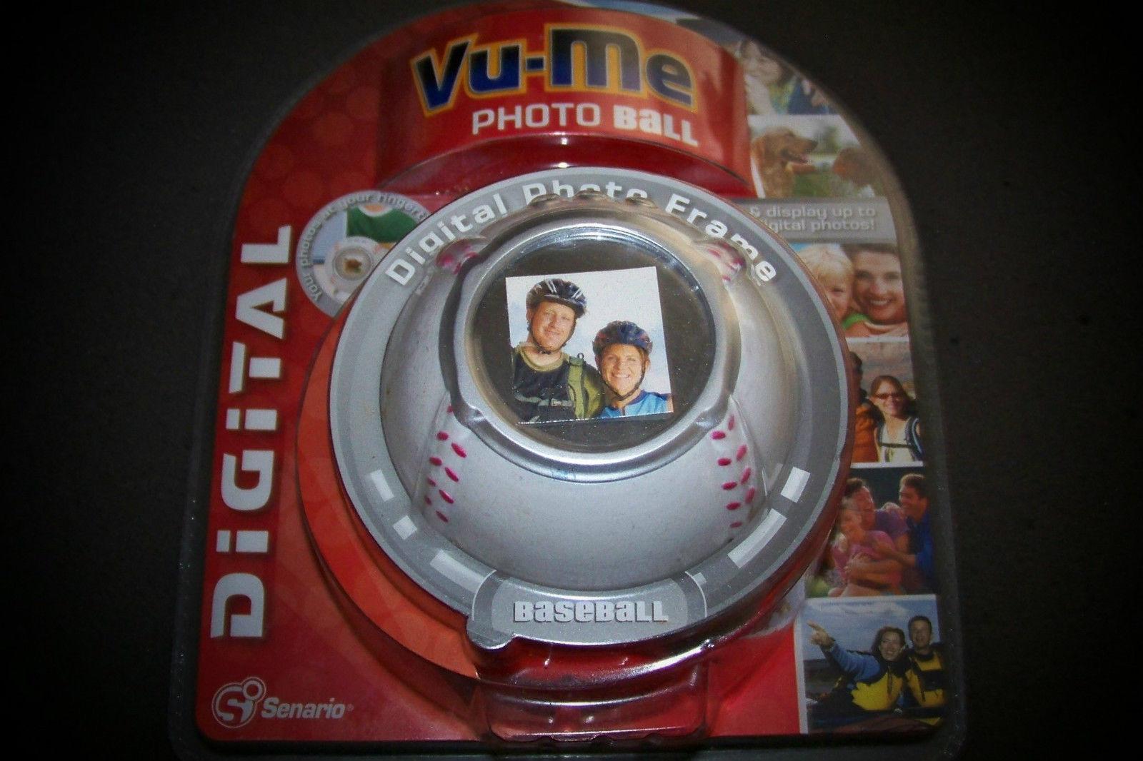 Vu Me Photo Baseball Digital Frame