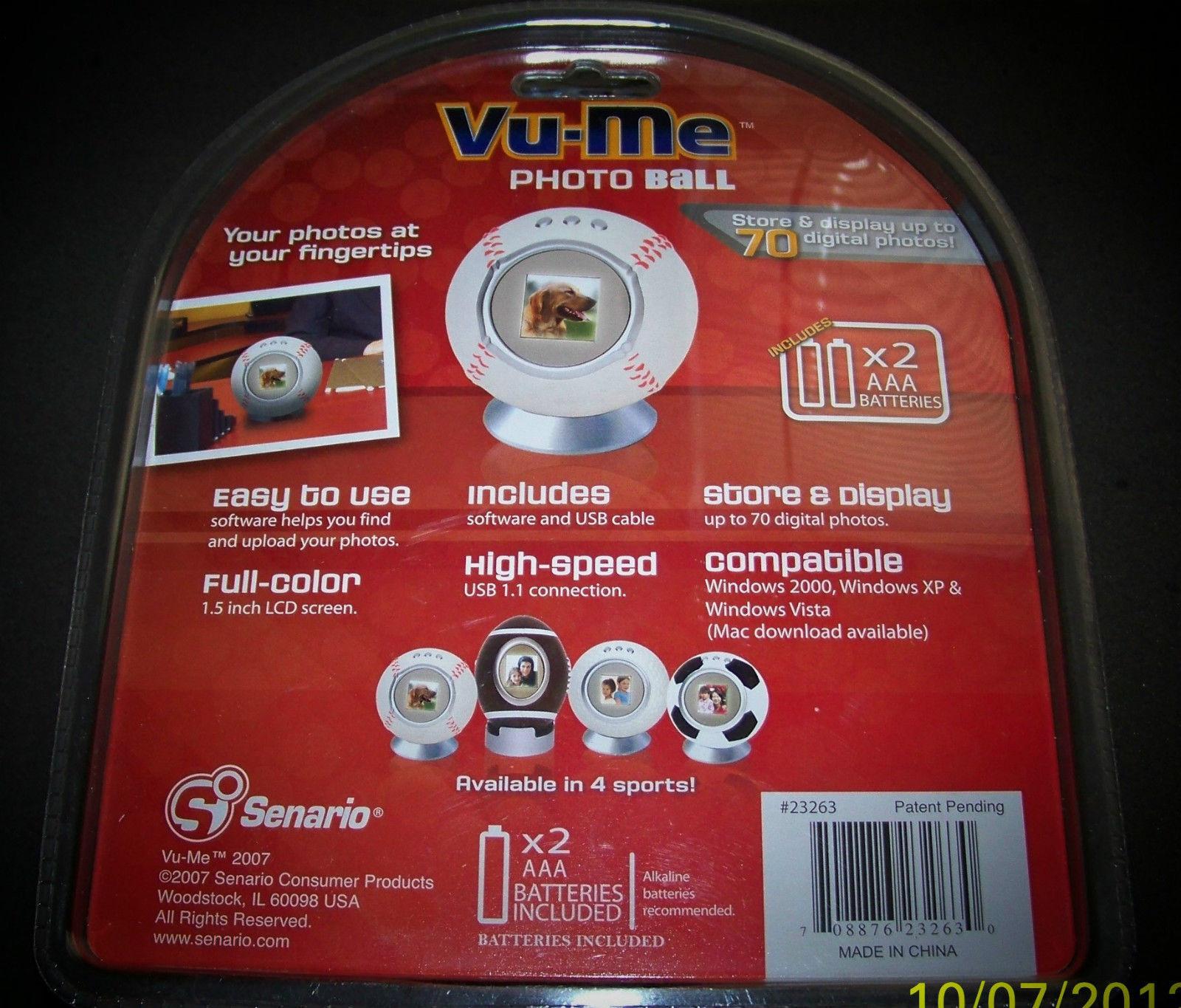 Vu Me Photo Baseball Digital Frame image 2