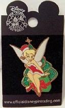 DISNEY SANTA TINKERBELL TINK CHRISTMAS XMAS 2005 3D PIN - $24.49
