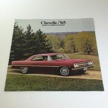 1965 Chevelle 300 Deluxe by Chevrolet 4 Door Sedan Hardtop Car Catalog Brochure - $21.38