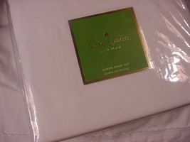 Kate Spade New York Larabee Dot White Sheet Set Queen - $84.00