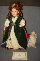 Sabrina and Baby Porcelain Doll Seymour Mann [w/ Box + Stand + COA] 7261... - $18.00