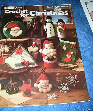 Crochet for Christmas Leaflet No 81 Leisure Arts