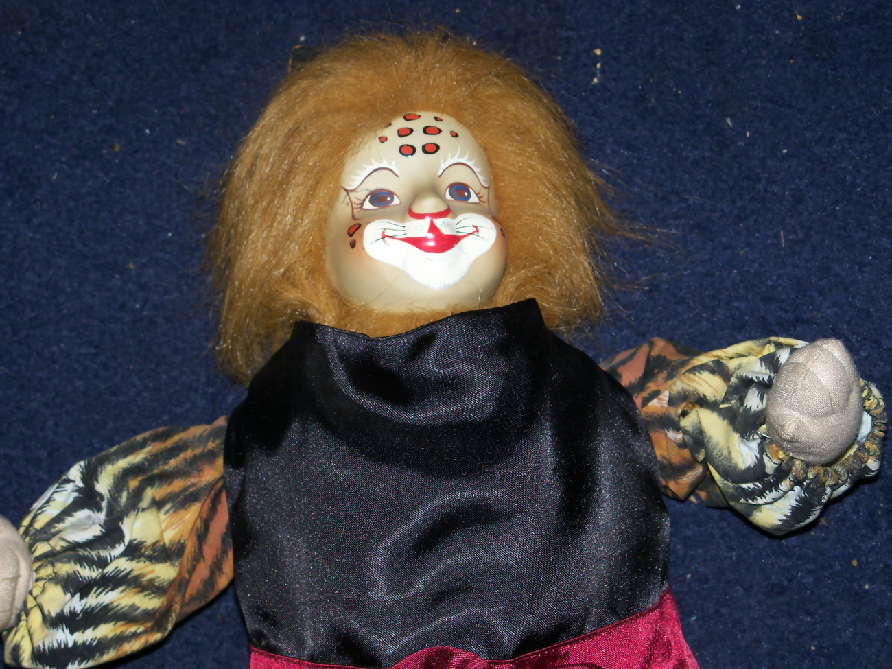 Primary image for VERY CREEPY OLD DOLL MERLIN APRS MOM25705 WILD STRANGE estate find