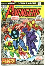 Avengers 122 FNVF 7.0 Marvel 1974 Bronze Age Thor Vision Black Panther - $32.67