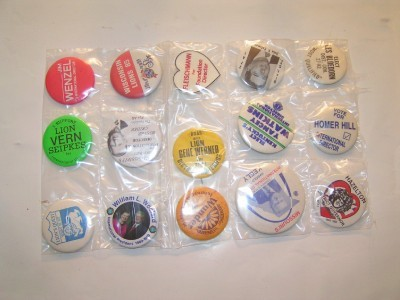 LIONS CLUB 98 pinbacks