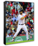 Mitch Moreland 2018 Boston Red Sox -16x20 Photo on Stretched Canvas - $94.95