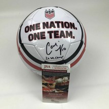 Autographed/Signed CARLI LLOYD 2x WC Champs White Team USA Soccer Ball J... - $134.99