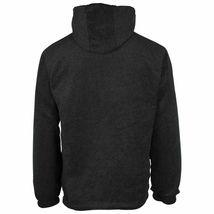 Men's Reversible Water Resistant Fleece Lined Hooded Rain Jacket w/ Defect  2XL image 5