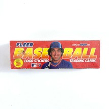 1989 MLB Fleer Baseball Cards Factory Sealed Box Set 660 Cards & 45 Stic... - $25.50