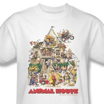 Animal House T-shirt retro 80s classic college movie 100% cotton tee UNI131 image 1
