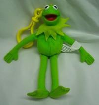 "Jim Henson The Muppets KERMIT THE FROG 6"" Plush STUFFED ANIMAL Toy CLIP ... - $14.85"