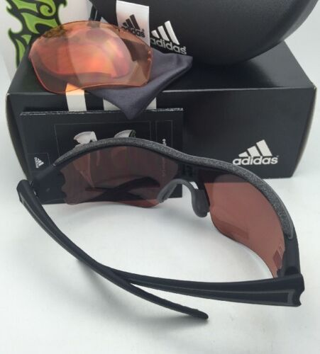 ADIDAS Sunglasses EVIL EYE HALFRIM PRO L A167 6054 Black Frame w/2 LST Lens Sets