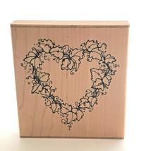 DOTS Hearts of Ivy Rubber Stamp R 152 Crafting Scrapbook - $12.99