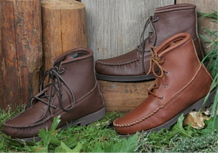 Mens Footwear Cowhide Walking Boots Crepe Soles Cushion Insoles Made in USA Bonanza