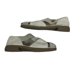 Aerosoles 4 Give Women's Tan Creme Leather Fisherman Sandals Size 8 - $39.59