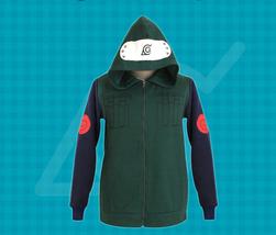 Naruto Konoha Ninja Hatake Kakashi Sweatshirt Cosplay Costume Hooded Coat  - $39.99