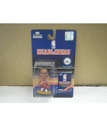 NBA HEADLINERS- 76ERS- JERRY STACKHOUSE- (RED JERSEY) NEW ON THE CARD- L150 - $4.70