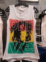 Bob Marley Tank Top Small to Medium Cotton England - $27.96