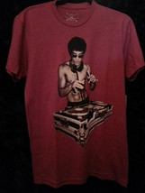 Bruce Lee DJ T shirt Brick Red Small, Medium, Large or Xlarge Special Edition image 4