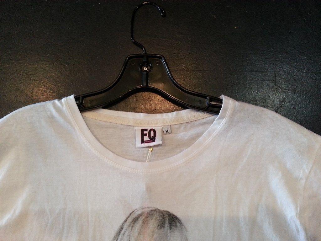 The Finger T shirt cotton white Small, Medium, Large, Xlarge image 3