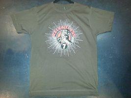 Relentless 7 seven T shirt Small Brown image 5