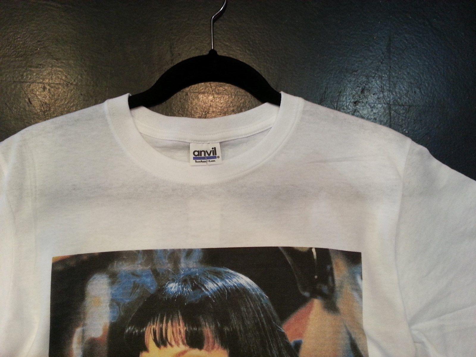 Uma Thurman Pulp Fiction T shirt Mia Wallace Small, Medium, Large, Xlarge image 3
