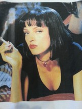 Uma Thurman Pulp Fiction T shirt Mia Wallace Small, Medium, Large, Xlarge image 2