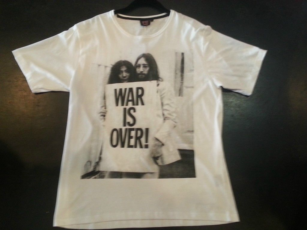 The War is Over T shirt John Lennon Beatles Small, Med, Large, XL