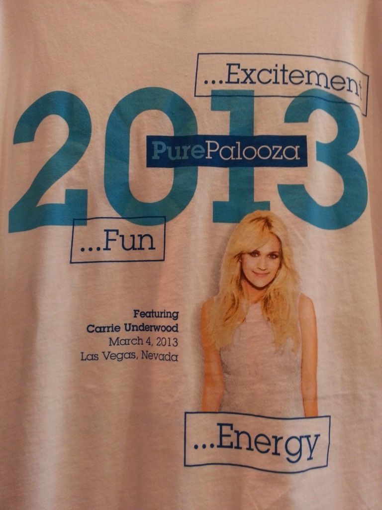 Carrie Underwood T shirt IBM Las Vegas Large
