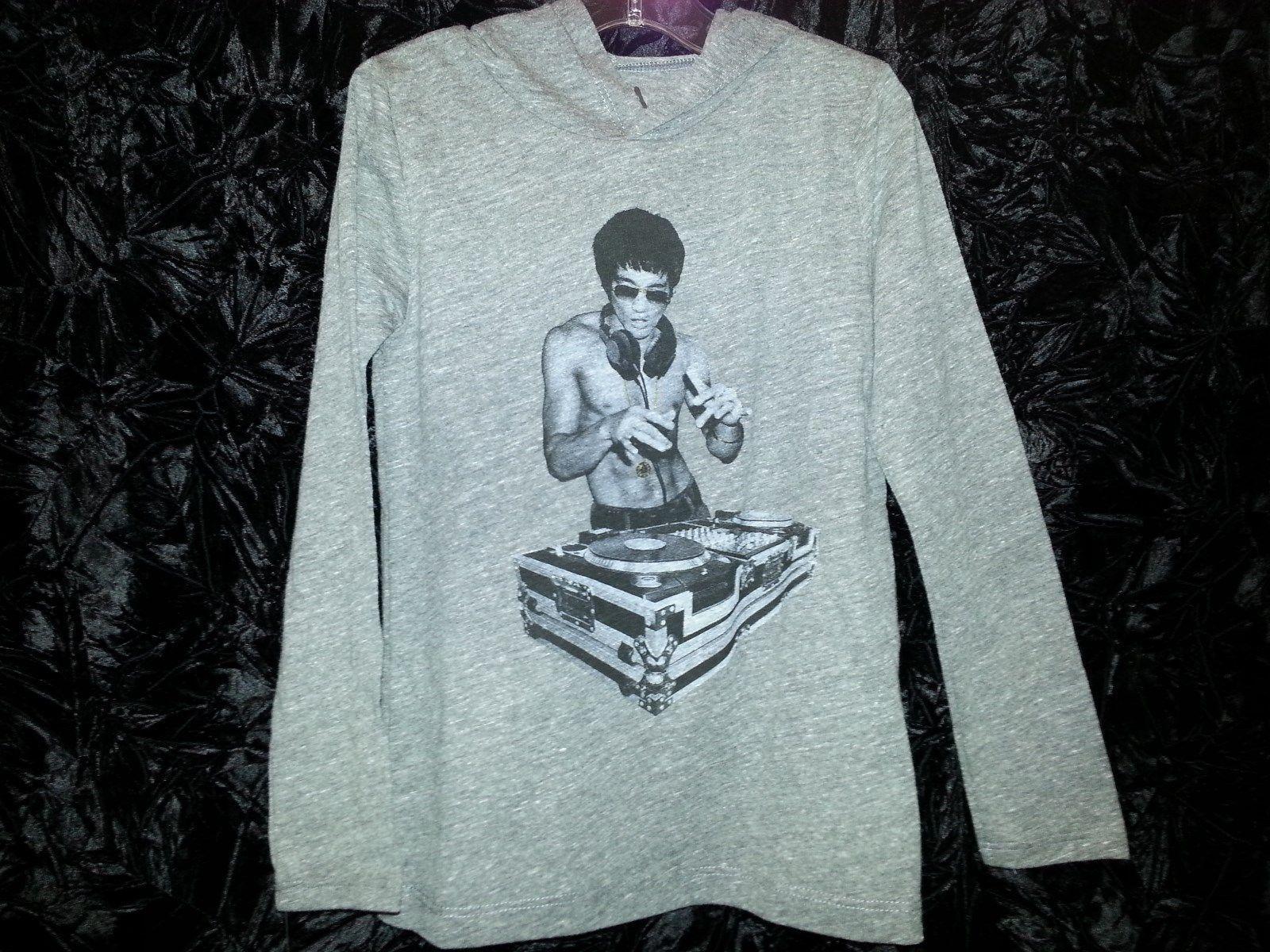 Bruce Lee DJ Kids Hoodie Ages 4 yrs, 5 yrs, 10yrs, 12 yrs
