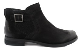 Abeo Yana Ankle Booties Black Nubuck Women's Size US 7 ()5187 - $80.00