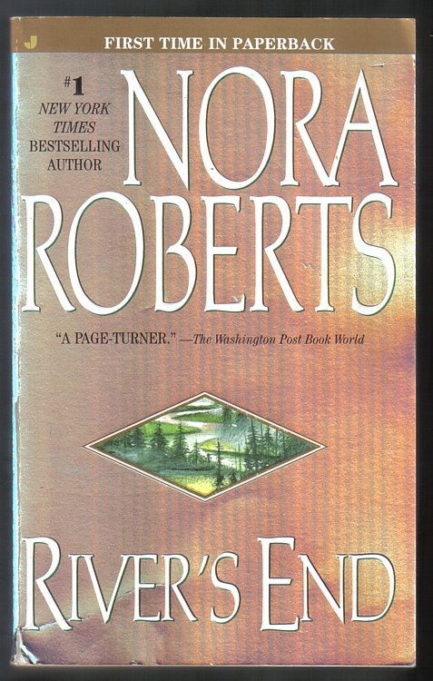 Nora Roberts Lot of 4 PB's Birthright, High Noon, Rivers End & Genuine Lies