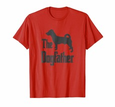 Dog Fashion - The Dogfather t-shirt Jack Russell silhouette funny dog Men - $19.95+